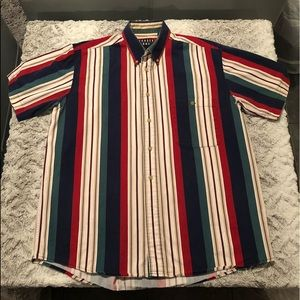 Trader Bay 90's Stripped Button Down Shirt